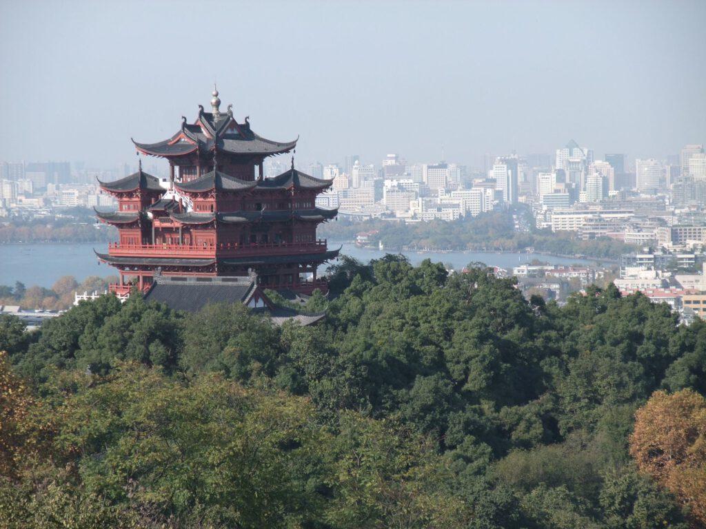 wushan mountain in hangzhou