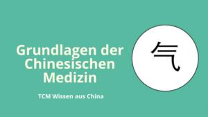 Erlerne die Grundlagen der Chinesischen Medizin